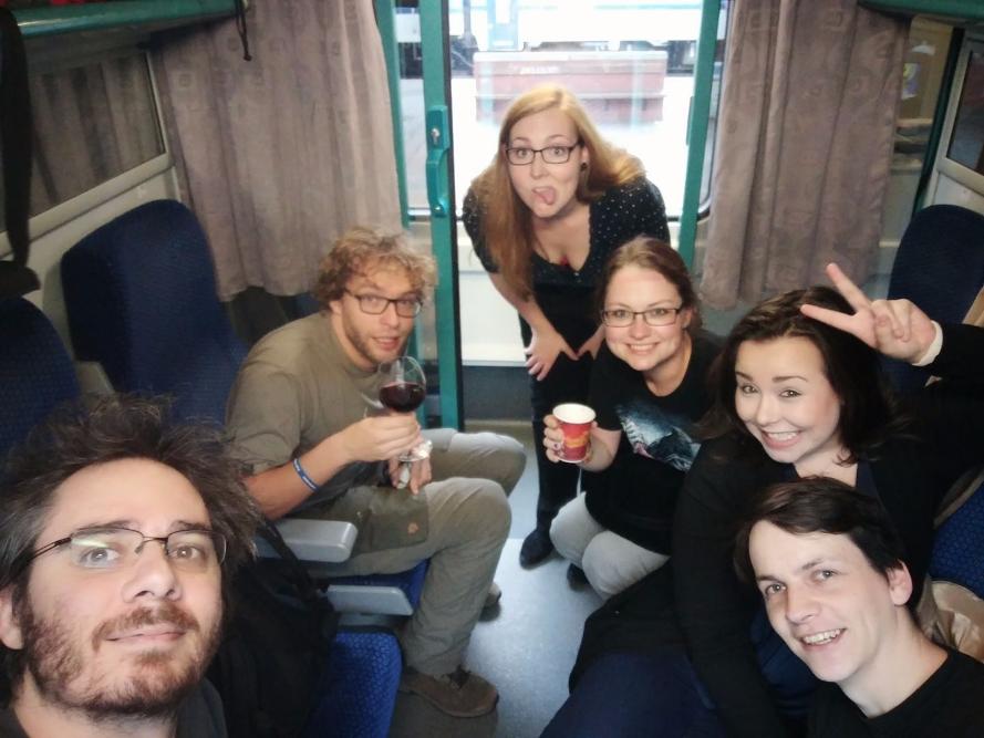 Cesta z města do Brna by ruční selfie tyč Honza Král